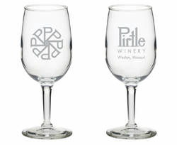 Pirtle 6.5 oz. Logo Glass
