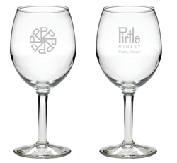 Pirtle 11oz. Logo Glass